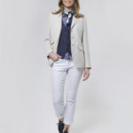 Carola - chicer Leinenblazer in nature linen
