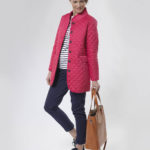 Grace - feminine Steppjacke in pink
