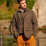 Austria - edle Jacke in Irish Tweed