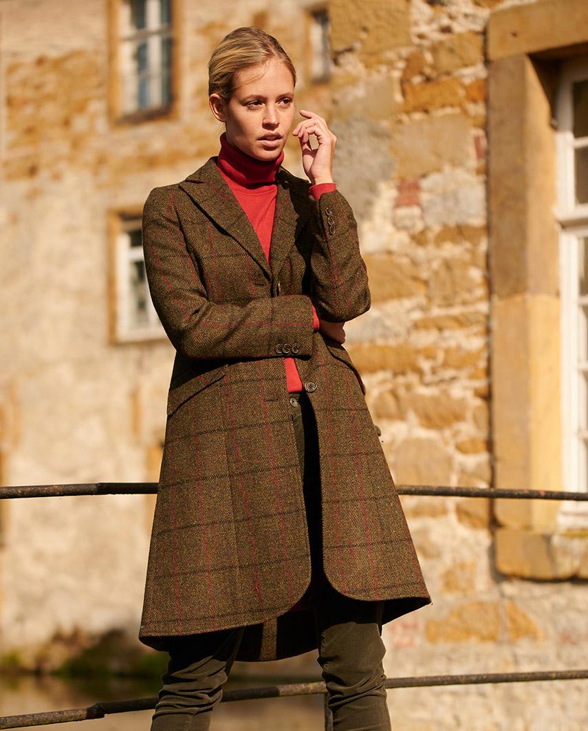 eleganter in Brenda Blazermantel HARRIS TWEED ordBeCWx