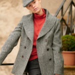Kathy - Cabanjacke aus Harris Tweed