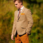 London - chices Harris Tweed Sakko