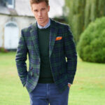 London - Blackwatch Harris Tweed Sakko