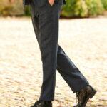 Mr. Miller - Harris Tweed Hose in blue herringbone