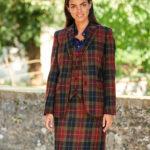 """Carola - authentischer Harris Tweed Blazer in """"Check of Island"""""""