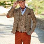 London - Harris Tweed Sakko in Glencheck