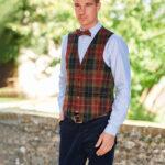 Tailor - chice Weste aus original Harris Tweed