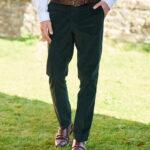Mr. Bradley - zeitlos-chice dunkelgrüne Cordhose