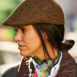 Henry Cap -  Harris Tweed Mütze in schönen Naturtönen