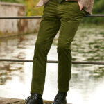 Mr. Bradley - Cordhose mit allerhöchstem Tragekomfort in grün